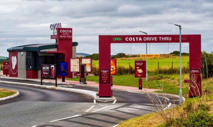 Costa Drive Through