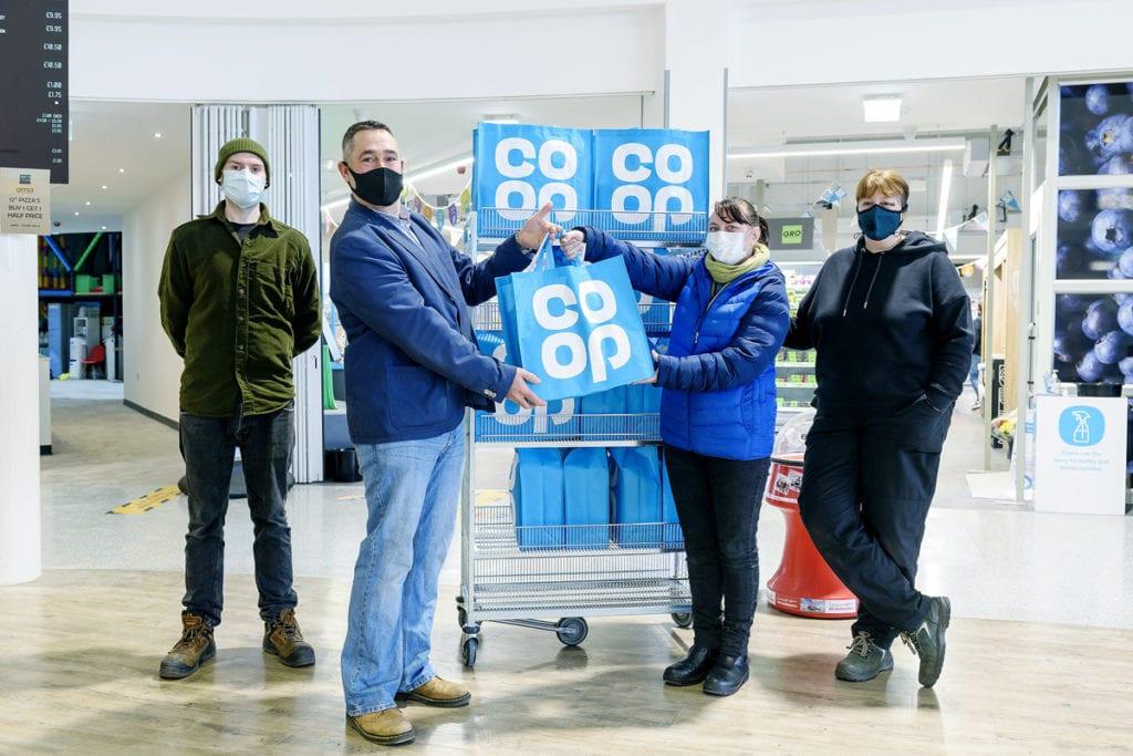 Fair Exchange Bodmin receiving Co op meal kit donations