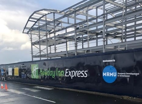 Holiday Inn Express Construction 2