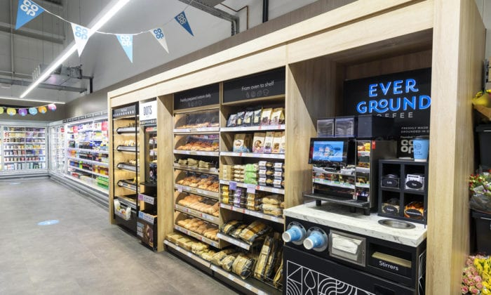 Co Op food, Cornish Gateway Services, Roche.